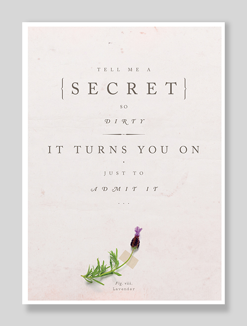 Tell Me A Secret So Dirty It Turns You On Just To Admit It Erotic Sexy greeting card