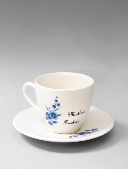 Mother Fucker Tea Cup & Saucer